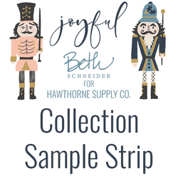 Joyful Sample Strip