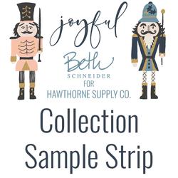Joyful Sample Strip