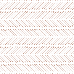 Chevron Arrows in Hot Chocolate on White