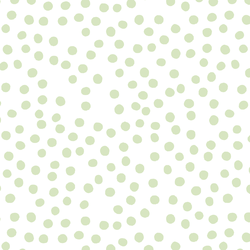 Dots in Sea Green