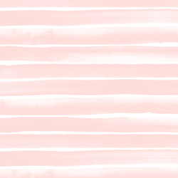 Large Watercolor Stripe in Pink