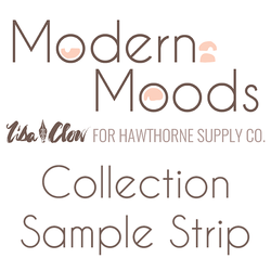 Modern Moods Sample Strip