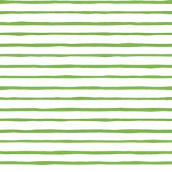Artisan Stripe in Greenery on White