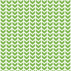 Broken Chevron in Greenery