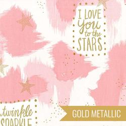 You are Magic in Pink Metallic