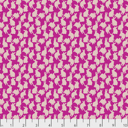 Mini Rabbits in Fuchsia