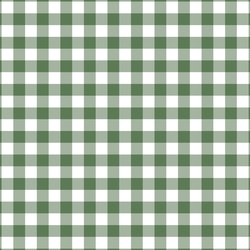 Woodland Gingham in Forest Green