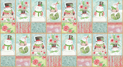 Snow Sweet Panel in Multi