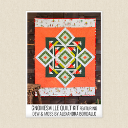 Gnomesville Quilt Kit