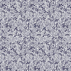 Tapestry Lace in Navy