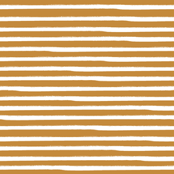 Painted Stripe in Tangerine