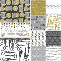 Haberdasher Fat Quarter Bundle in Vintage