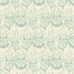 Pug Ville Knit in Vert