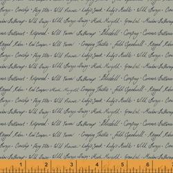 Wildflower Script in Sage
