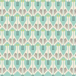 Deco Storks in Mint