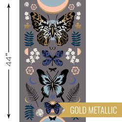 Mother Panel in Metallic Slate Grey