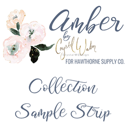 Amber Sample Strip