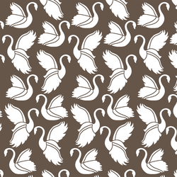 Swan Silhouette in Timber