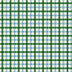 Plaid in Blue and Green