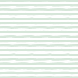 Painted Stripes in Mint Swirl