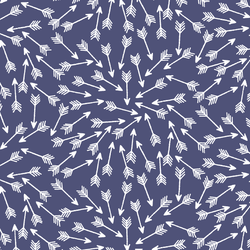 Arrows in Indigo