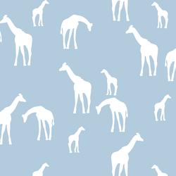 Giraffe Silhouette in Sky