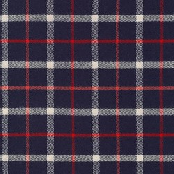 Tahoe Plaid Flannel in Navy