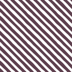 Rogue Stripe in Raisin