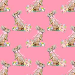 Little Bunny Tales in Gerbera Pink