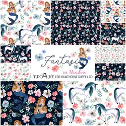 Fantasia Fat Quarter Bundle in Meadow