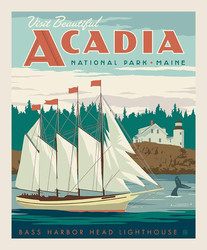 Poster Panel in Acadia