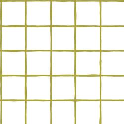 Windowpane in Zest on White