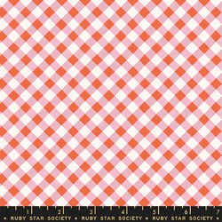 Painted Gingham in Kiss