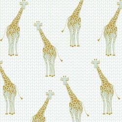 Safari Giraffe in Mint Metallic