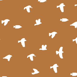 Flock Silhouette in Ginger