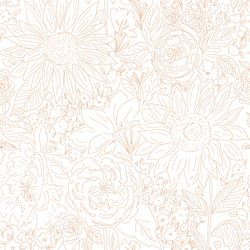 Paperie in Serenity Rose on White