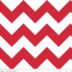Large Chevron in Red