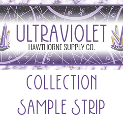 Ultraviolet Sample Strip