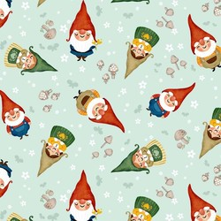 Sweet Gnomes in Mist