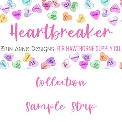 Heartbreaker Sample Strip