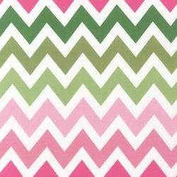 Large Zig Zag Stripe in Primrose