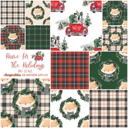 Home For The Holidays Fat Quarter Bundle Big Scale
