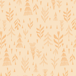 Forest in Peach