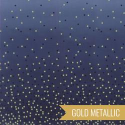 Ombre Confetti Metallic in Indigo