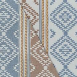 Taos Flannel in Blue