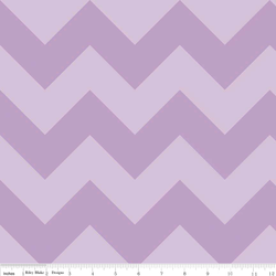 Large Chevron Tone on Tone in Lavendar