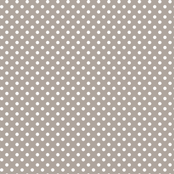 Tiny Dot in Taupe