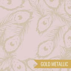 Feathers Royal in Ormolu Metallic