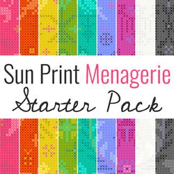 Sun Print 2020 Starter Pack in Menagerie
