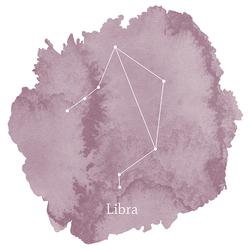 Libra Sign Panel in Celestial